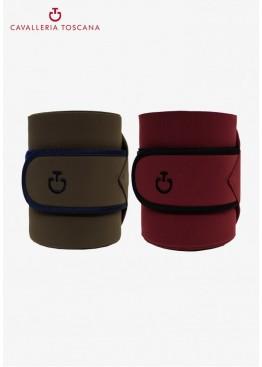 Бинты для ног лошади флис/стрейч Jersey and Fleece, набор 2 шт, Cavalleria Toscana