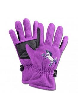 Перчатки для верховой езды флисовые детские Unicorn - ELT