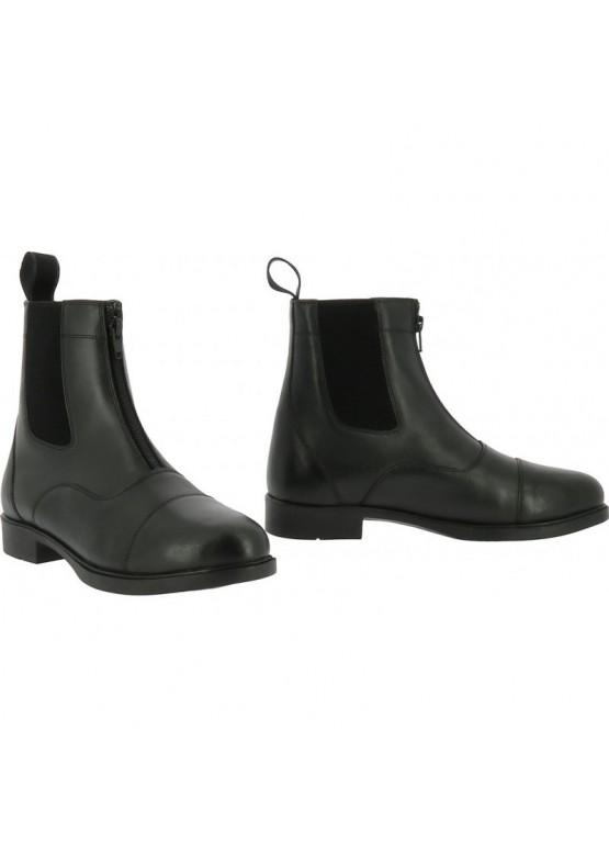 "Ботинки кожаные ""Zip"" - EQUI-TIME"