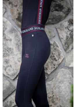 Лосины для верховой езды женские с полной силиконовой леей KLkarina - Kingsland