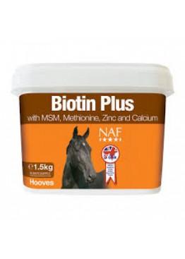 Добавка ежедневная для здоровья копыт с биотином Biotin Plus, NAF 5 Stars