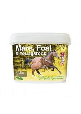Подкормка для жеребят, молодых лошадей и племенных кобыл Mare, Foal & Youngstock, NAF 5 Stars