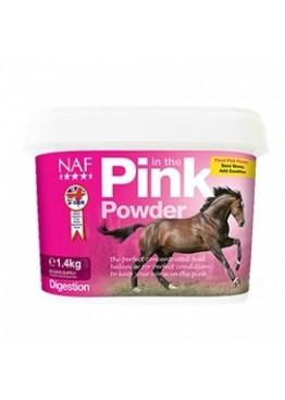 Подкормка для лошади комплексная, концентрированная, для пищеварения Pink Powder, 1,4 кг, NAF 5Stars